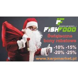 500zł Bon Świąteczny Fish Food - 25% + wysyłka towaru Gratis !