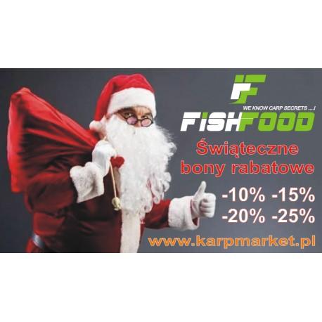 400zł Bon Świąteczny Fish Food - 20% + wysyłka towaru Gratis !
